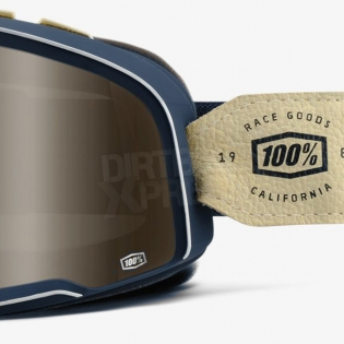 100% Barstow Classic Goggles - Raw Bronze Lens Image 4
