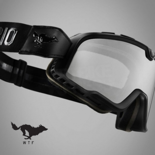 100% Barstow Classic Goggles - Solitario Smoke Lens Image 2