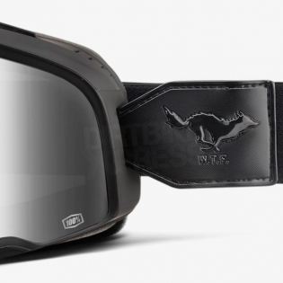 100% Barstow Classic Goggles - Solitario Smoke Lens Image 3