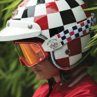 100% Barstow Classic Goggles - OSFA 2 Red Lens Image 4
