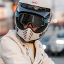 100% Barstow Classic Goggles - Deus 17 Silver Lens