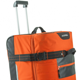 Acerbis X Trip Wheeled Gear Bag - Orange Image 2
