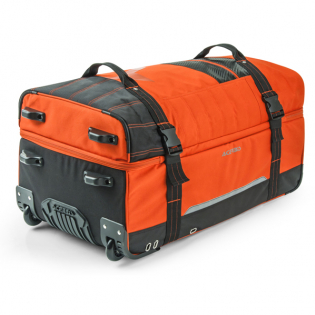 Acerbis X Trip Wheeled Gear Bag - Orange Image 4