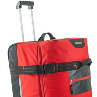 Acerbis X Trip Wheeled Gear Bag - Red Image 2