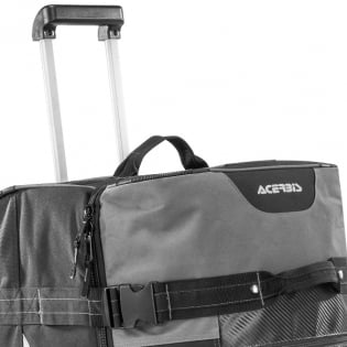 Acerbis X Moto Wheeled Gear Bag - Red Image 2