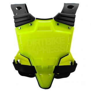 Acerbis Profile Chest Protector - Fluo Yellow Blue Image 3
