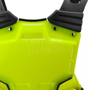 Acerbis Profile Chest Protector - Fluo Yellow Blue Image 4