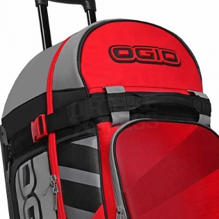 Ogio Rig 9800 LE Motocross Wheeled Gear Bag - Red Hub Image 3