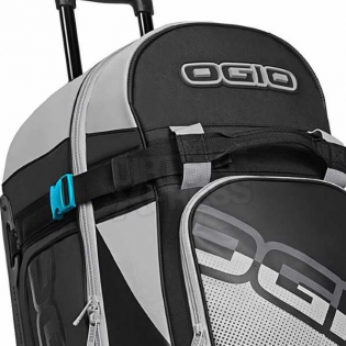 Ogio Rig 9800 LE Motocross Wheeled Gear Bag - Teal Block Image 3