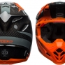 Bell Moto 9 Carbon Flex Helmet - Hound Orange Charcoal