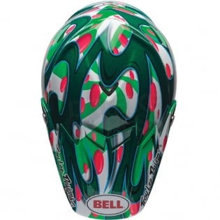 Bell Moto 9 Carbon Flex Helmet - McGrath Replica Green Image 3