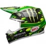 Bell Moto 9 Carbon Flex Helmet - McGrath Monster Energy Replica
