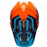 Bell Moto 9 MIPS Helmet - District Blue Orange