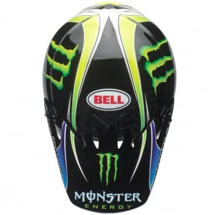 Bell MX9 MIPS Helmet - Pro Circuit Monster Replica 18.0 Image 3