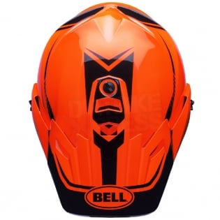 Bell MX9 MIPS Adventure Helmet - Torch Orange Black Image 3