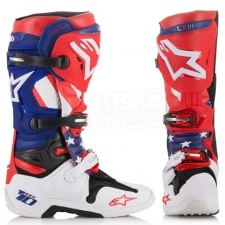 Alpinestars Tech 10 Boots - Ltd MX of Nations Matterley Basin Image 2