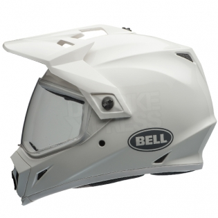 Bell MX9 MIPS Adventure Helmet - Solid White Image 2