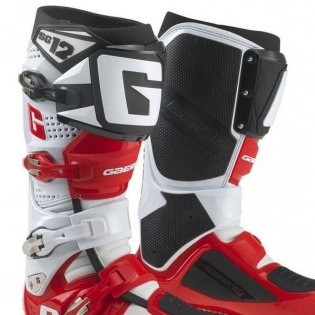 Gaerne SG12 Motocross Boots - Limited Edition White Red Black Image 2