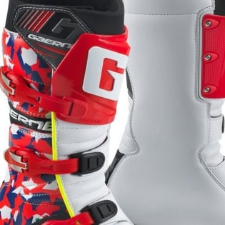Gaerne Trials Boots - Balance Classic Camo Red Image 2