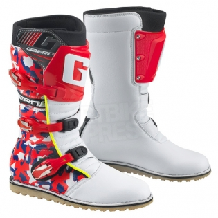 Gaerne Trials Boots - Balance Classic Camo Red Image 3