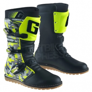 Gaerne Trials Boots - Balance Classic Camo Black Yellow Image 3