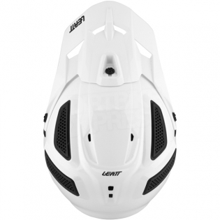 2018 Leatt Kids GPX 5.5 V7 Helmet - White Black Image 2