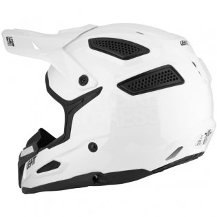 2018 Leatt Kids GPX 5.5 V7 Helmet - White Black Image 4