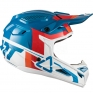 2018 Leatt Kids GPX 4.5 V10 Helmet - Blue White