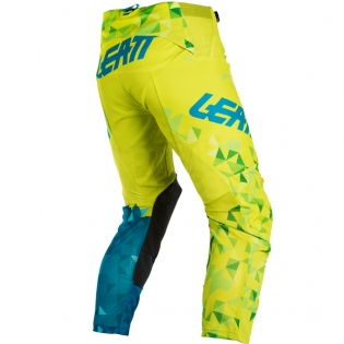 2018 Leatt GPX 4.5 Lite Motocross Kit Combo - Lime Teal Blue Image 4