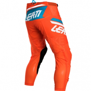 2018 Leatt GPX 4.5 Lite Motocross Kit Combo - Orange Denim Blue Image 4
