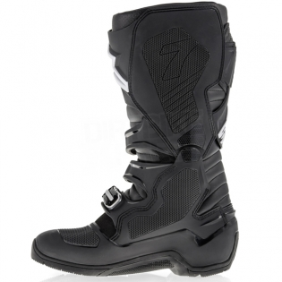 Alpinestars Tech 7 Enduro Boots - Black White Flo Yellow Image 4