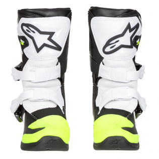 Alpinestars Kids Boots Tech 3S - Black White Flo Yellow Image 2
