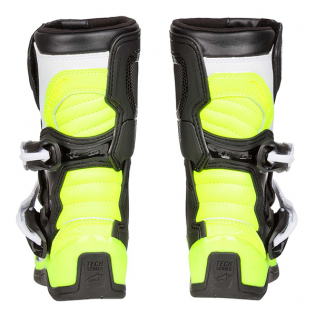 Alpinestars Kids Boots Tech 3S - Black White Flo Yellow Image 4