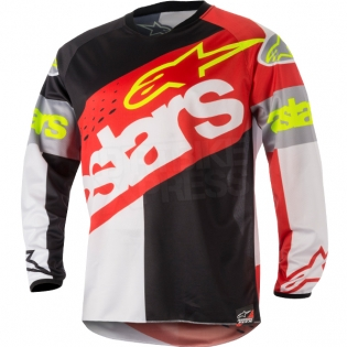 2018 Alpinestars Racer Kit Combo - Flagship Red White Black Image 2