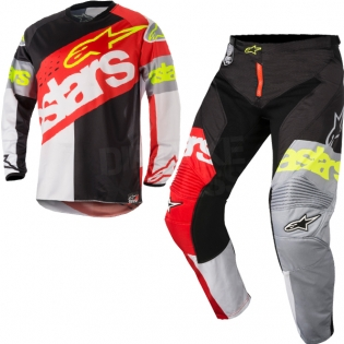 2018 Alpinestars Racer Kit Combo - Flagship Red White Black Image 3