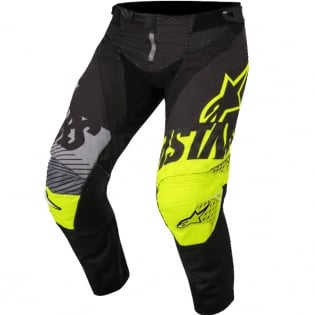 2018 Alpinestars Techstar Kit Combo - Screamer Blk Flo Ylw Grey Image 4