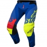 2018 Alpinestars Techstar Kit Combo - Screamer Blue Flo Ylw Rd