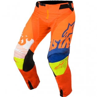 2018 Alpinestars Techstar Kit Combo - Screamer Org Blue Flo Ylw Image 4