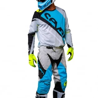 2018.1 Seven MX Rival Kit Combo - Militant Blue Cement Grey Image 2