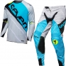 2018.1 Seven MX Rival Kit Combo - Militant Blue Cement Grey