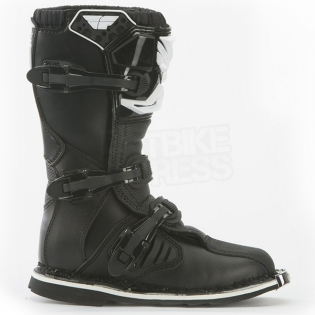 2018 Fly Racing Maverik Kids Boots - Black Image 2