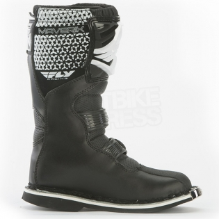 2018 Fly Racing Maverik Kids Boots - Black Image 4