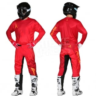 2018 Alias A2 Kit Combo - Trifecta Red Red Image 3