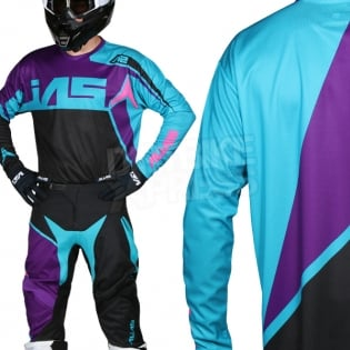 2018 Alias A2 Kit Combo - Burst Black Aqua Image 2