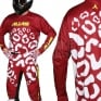 2018 Alias A2 Kit Combo - Cheetah Maroon White