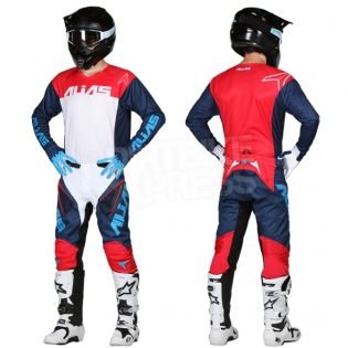 2018 Alias A1 Jersey - Classic Navy Red Image 3