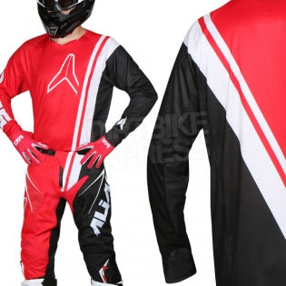 2018 Alias A1 Jersey - Offset Red Black Image 2