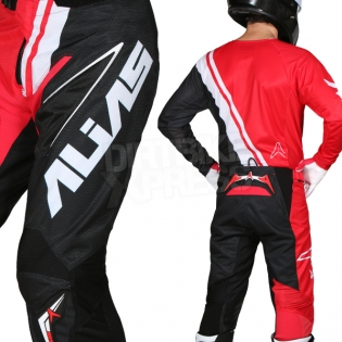 2018 Alias A1 Jersey - Offset Red Black Image 4