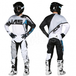2018 Alias A2 Jersey - Burst Black White Image 3