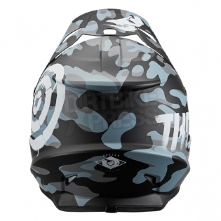 2018 Thor Sector Helmet - Covert Midnight Camo Image 2